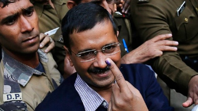 File Photo: Delhi Chief Minister had claimed that AAP would win all 13 seats.