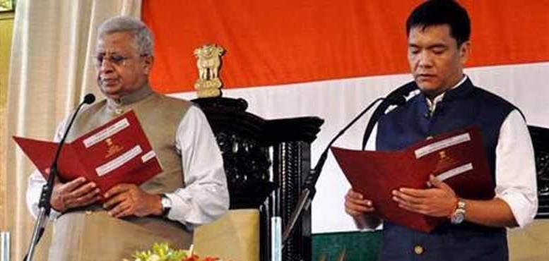 Pema Khandu is son of the former CM Dorjee Khandu.