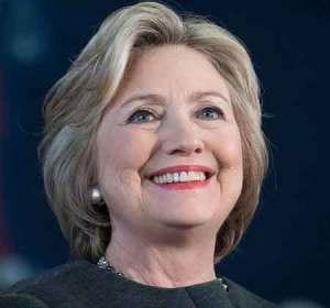 Hillary Clinton is first woman candidate in US history.