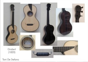 T. De Stefano (Milano, 2009), chitarra copia Grobert (Paris, 1830)