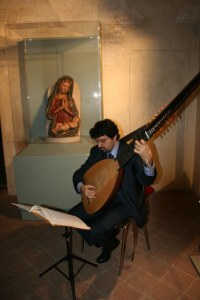 Tiorba di P. Busato (Padova, 2000) da Vendelio Venere (Padova, 1611)