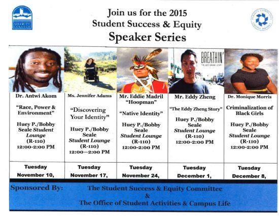 Speaker Series 10-29-15