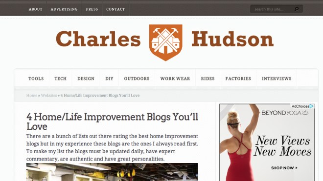 Charles & Hudson feature on home bloggers you'll love.