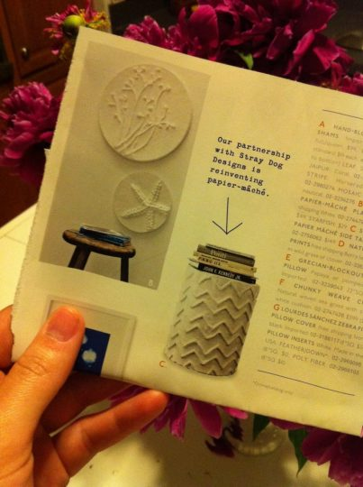 Stray Dog Side table via West Elm Catalogue