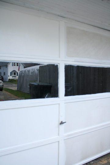 Garage door looking better by the second!