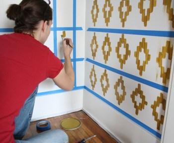 Painting an IKAT closet.