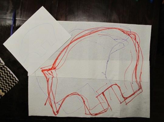 Bear sketching.
