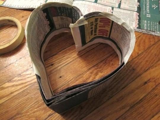 Custom heart mold.
