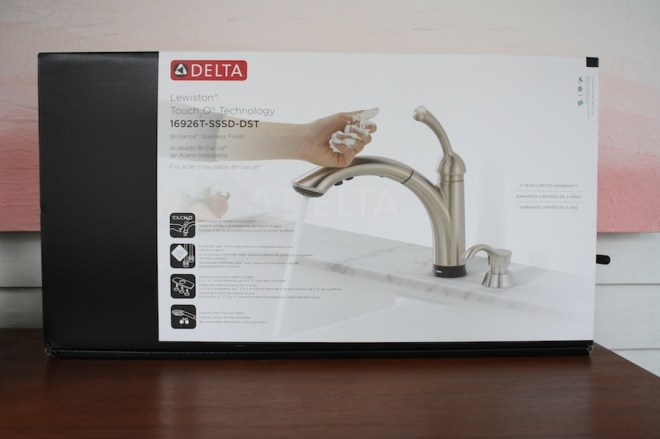 Welcome home, Lewiston. Meet my new Touch2O kitchen sink faucet.