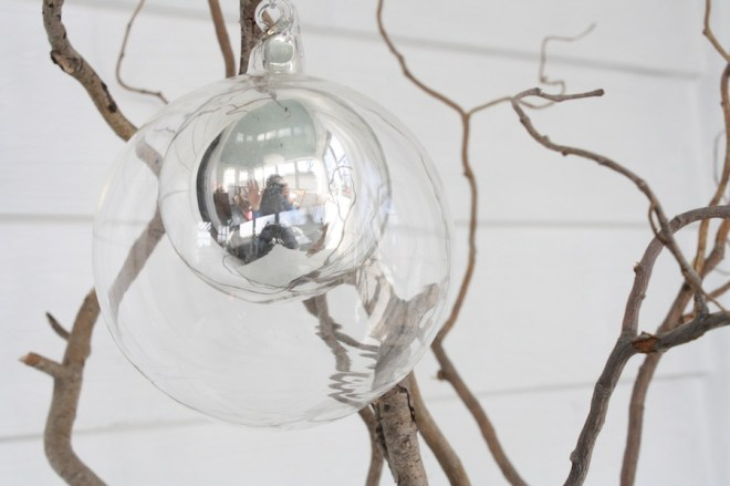 West Elm ornament.