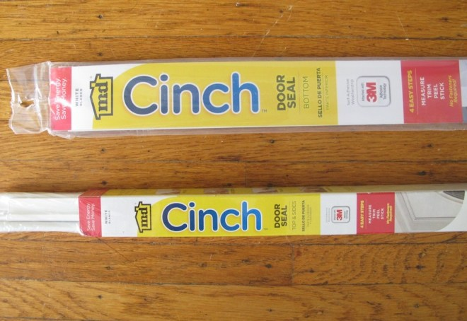 Cinch, a door weatherizing product M-D Building Products.