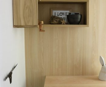 How to make a floating shelf for the entryway.