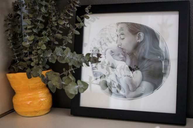 A customized photo from Minted.