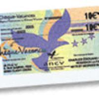Les chèques vacances