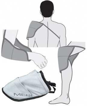 Fascia per magnetoterapia MagnetoMesis spalla gomito e ginocchio