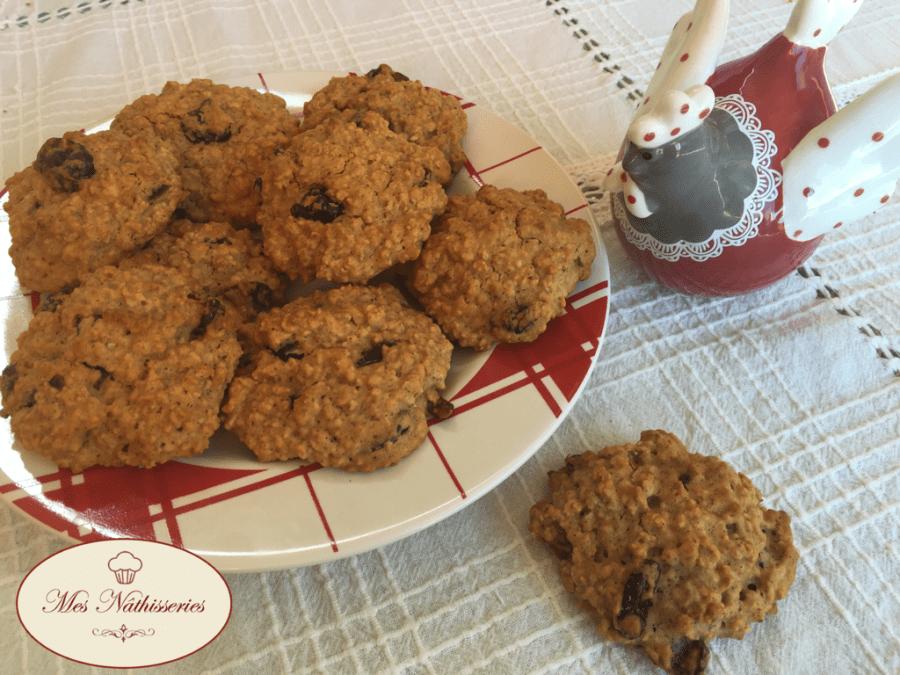 Cookies moelleux à l'avoine