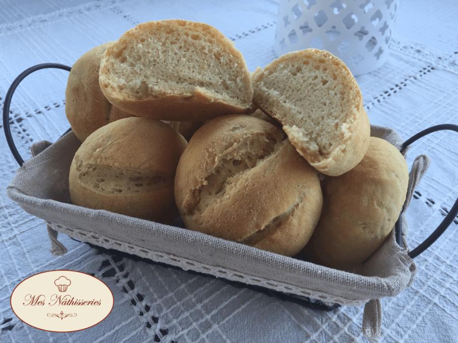 Petits pains à la farine de maïs