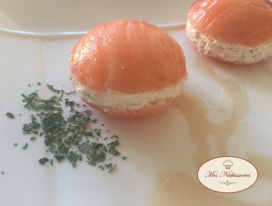 Macarons au saumon et wasabi mes n thisseries for Entrees faciles a realiser