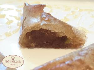 Samoussa pistache, raisin et miel