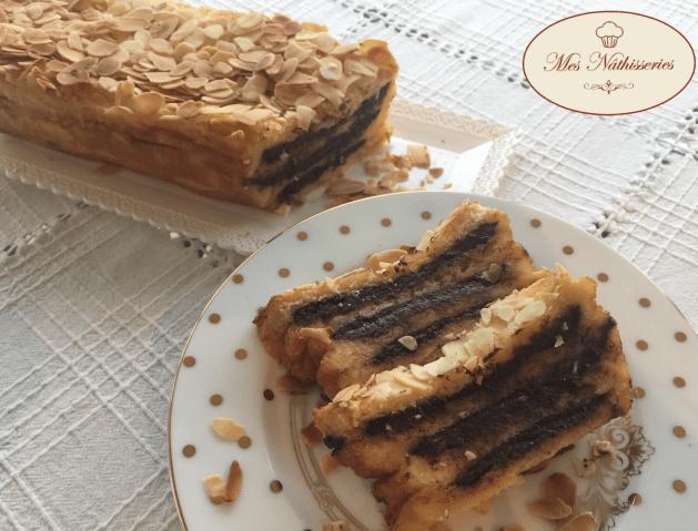 Croque cake chocolat amandes