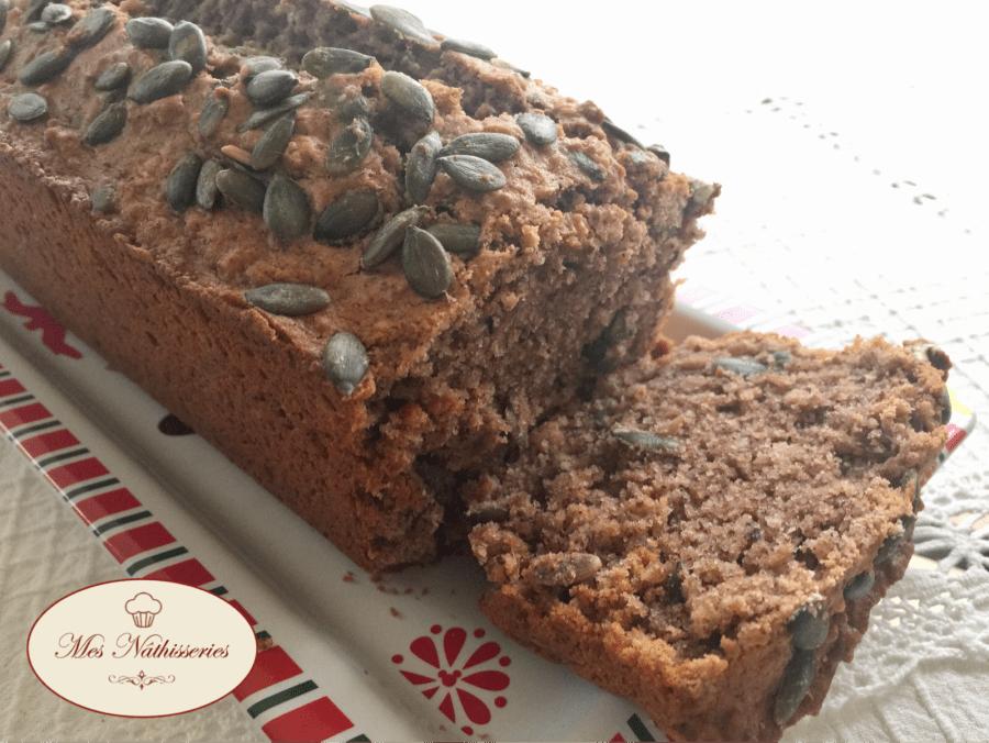 Cake Noisette et Graines de Courges