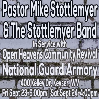 Open Heavens Community Reival, Keyser, WV