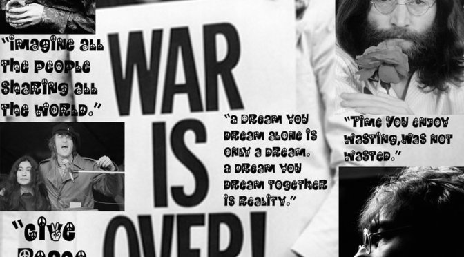 John Lennon war is over