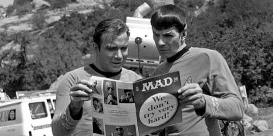 Star trek mad magazine