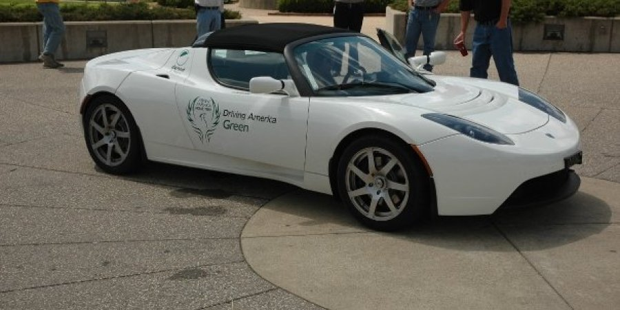 tesla (AA powered Lotus Elise)