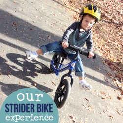 OUR STRIDER BIKE EXPERIENCE PART 4