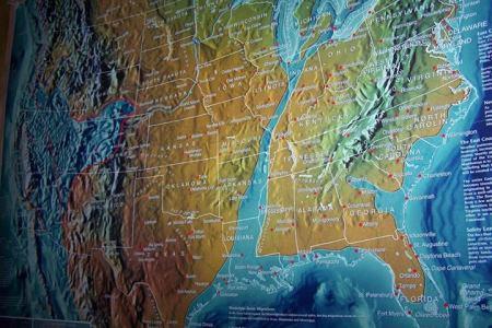 debunked leaked us navy map, new madrid, submerged us