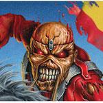 IMpost Iron Maiden y las banderas