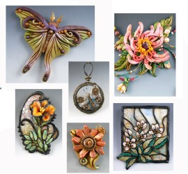 Polymer Clay Workshop, In The Garden - With Christi Friesen