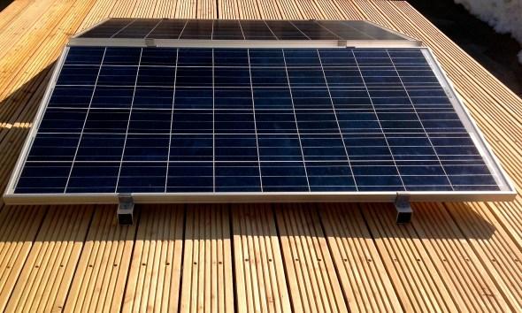 Flachdach Solarmodul