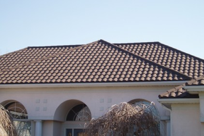 Many people who opt for tiled roofs are seeking a mediterranean look - but the traditional materials aren't suited for Canadian winters. Metal Roof Outlet can provide you this beautiful classic look with all of the strength of steel - for those frosty Ontario days.