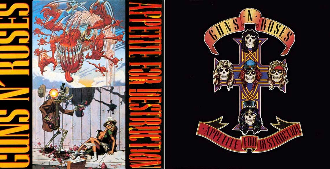 [Articulo] Guns N' Roses: Appetite for Destruction // Warner Music. Gnrc
