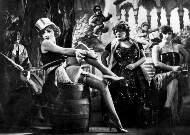 Marlene Dietrich in The Blue Angel3