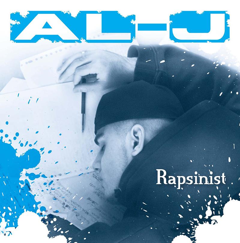 AL-J foto's voor zijn album Rapsinist