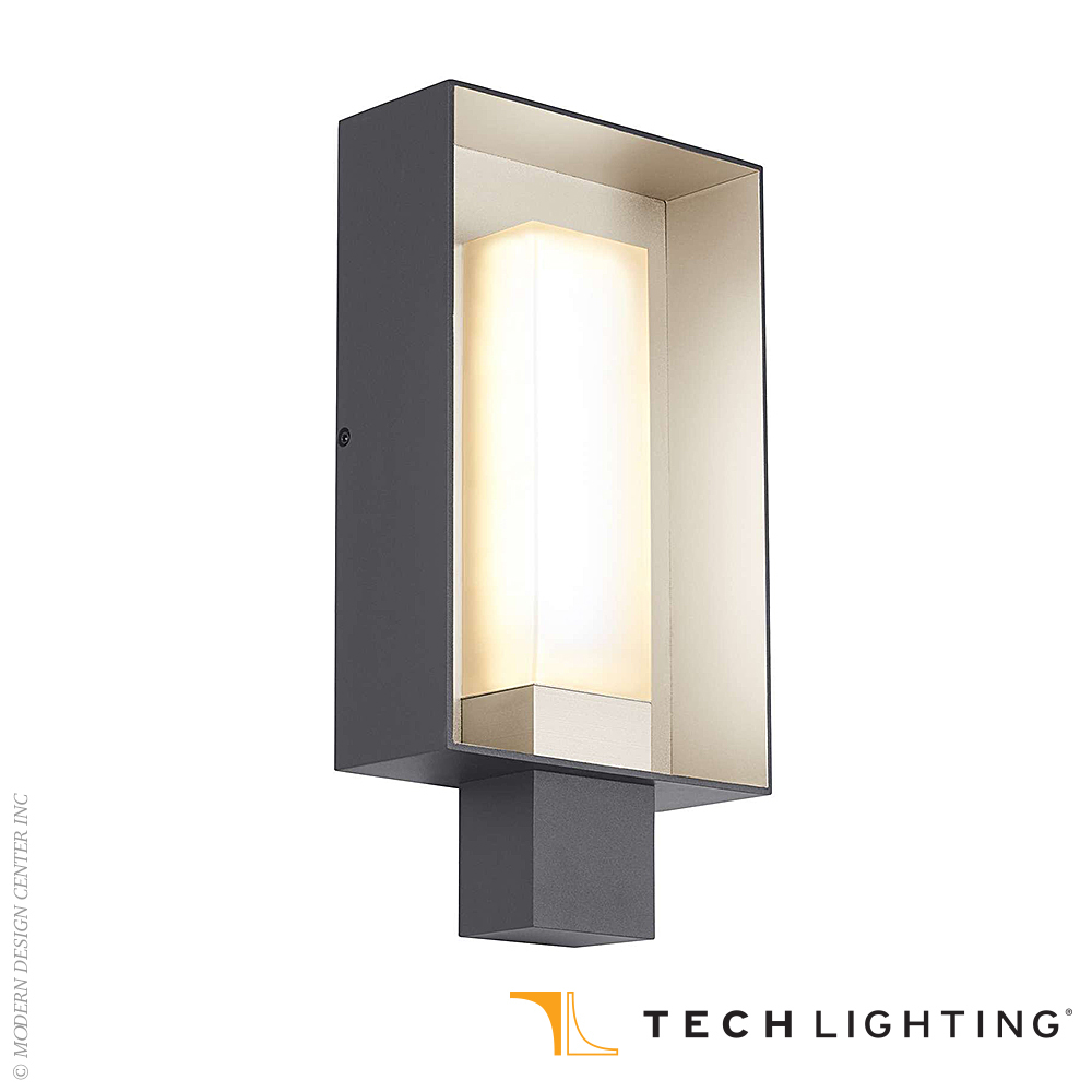 Adorable Quick View Refuge Square Led Outdoor Wall Sconce Large Tech Lighting At Outdoor Wall Sconce Outdoor Wall Sconce Height houzz-02 Outdoor Wall Sconce