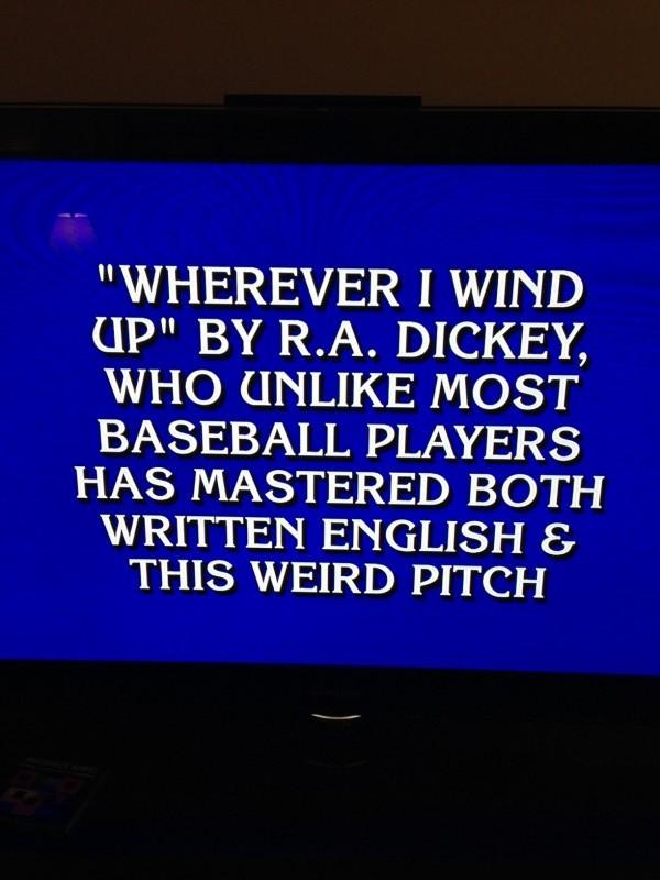 jeopardy ra dickey