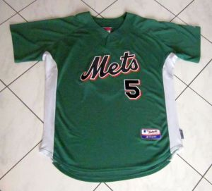 2006 mets st. patrick's day jersey