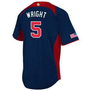 david wright wbc road jersey