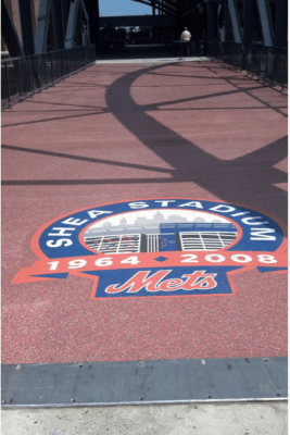 shea bridge floor at citi field june 2013 addition