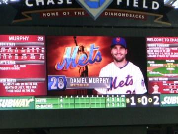 chase field scoreboard murphy