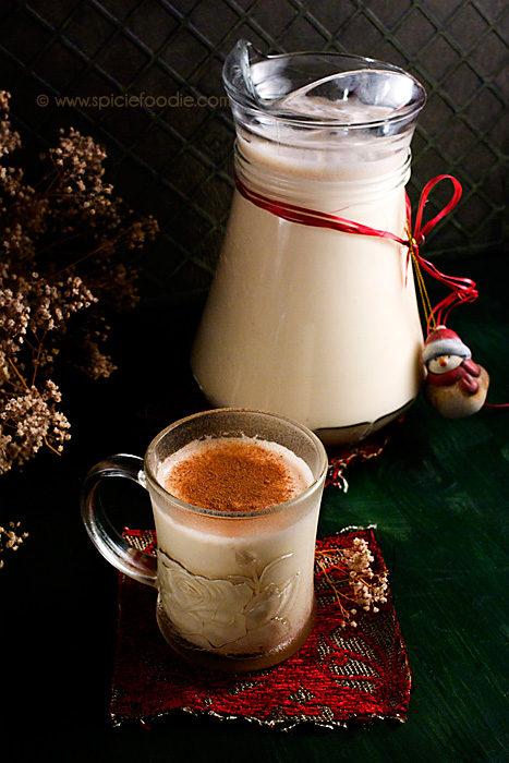 Old Fashion Eggnog Recipe from Spicie Foodie's Husband