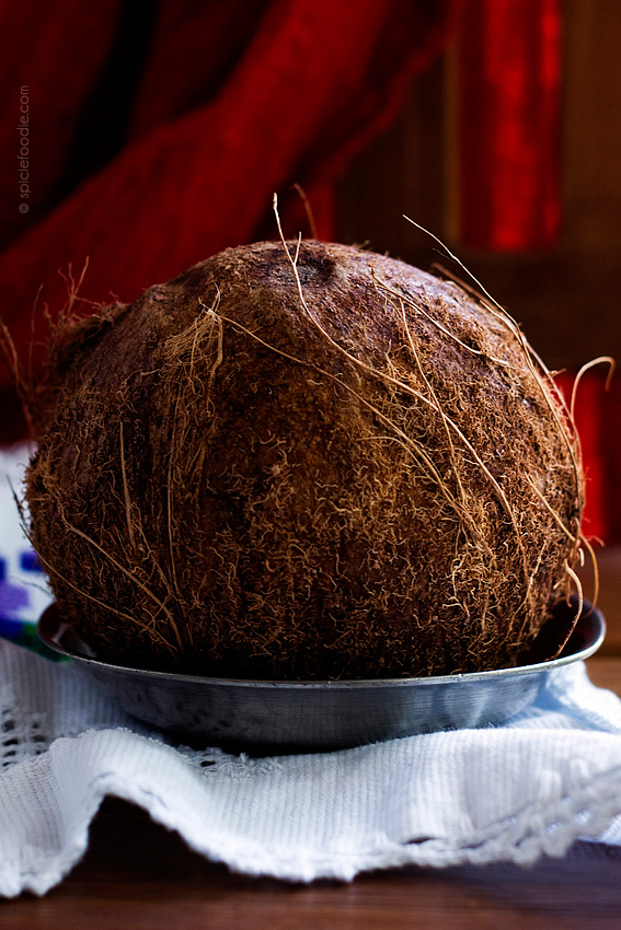 Mexican Coconut by @SpicieFoodie | #mexico #fruit #coconut #maturecoconut
