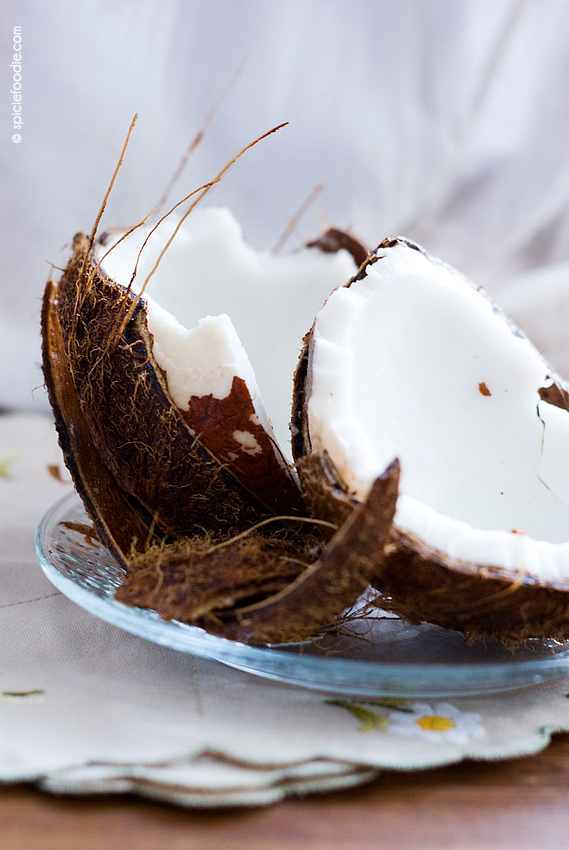 Mexican Coconut | #mexico #fruit #coconut #maturecoconut