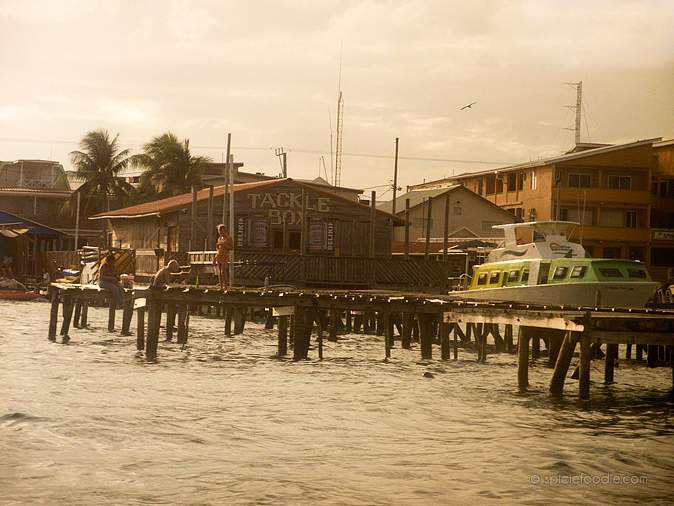 San Pedro Ambergris Caye Piers  | #travel #Belize #San Pedro