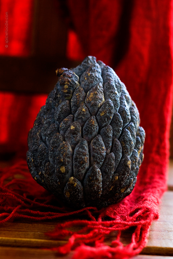 Saramuyo or SugarApple | #mexico #fruit #tropical #saramuyo #sugarapple