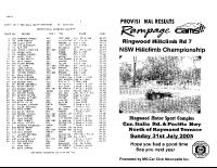 2005-07-31-nsw-state-rnd-7-hillclimb-ringwood-results